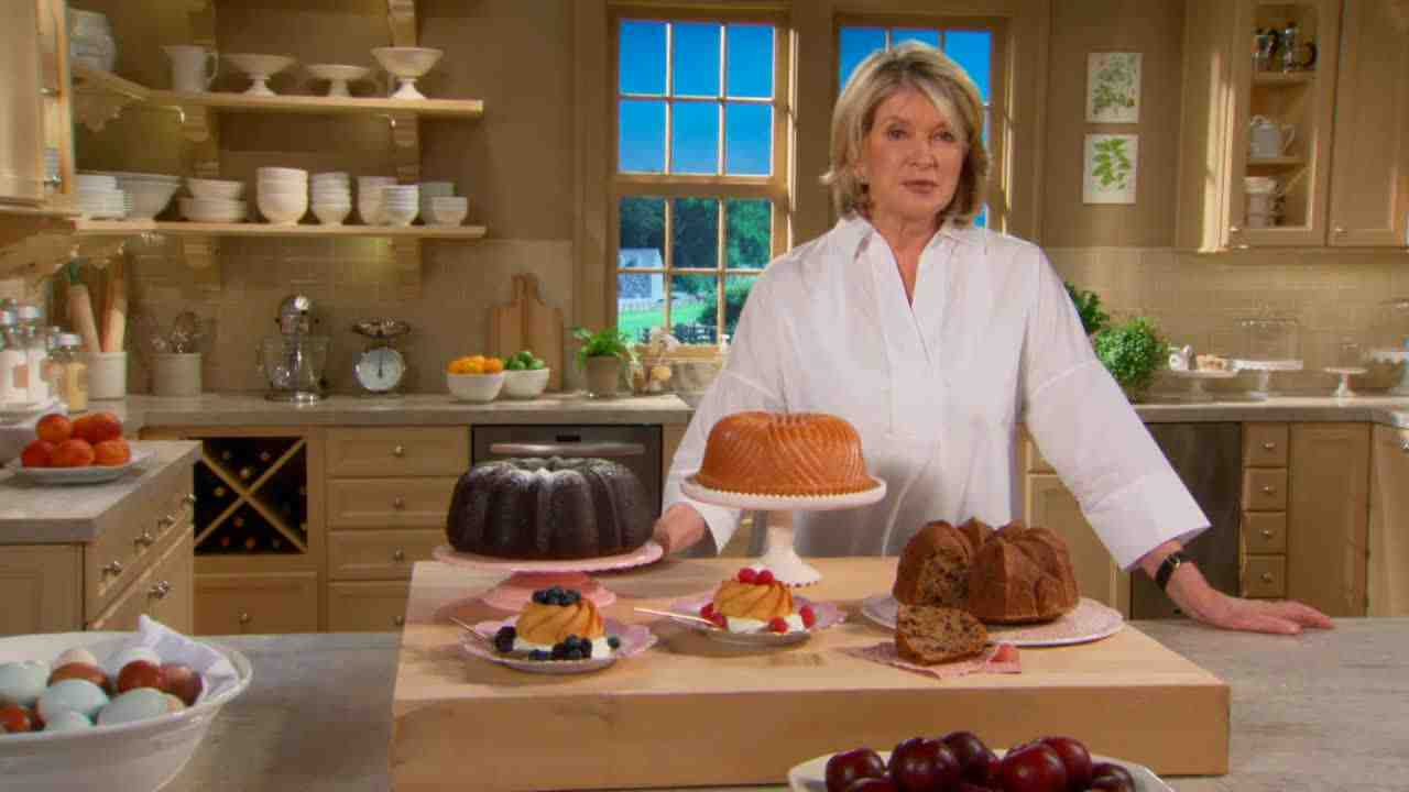 Martha Stewart Walnut Bundt Cake