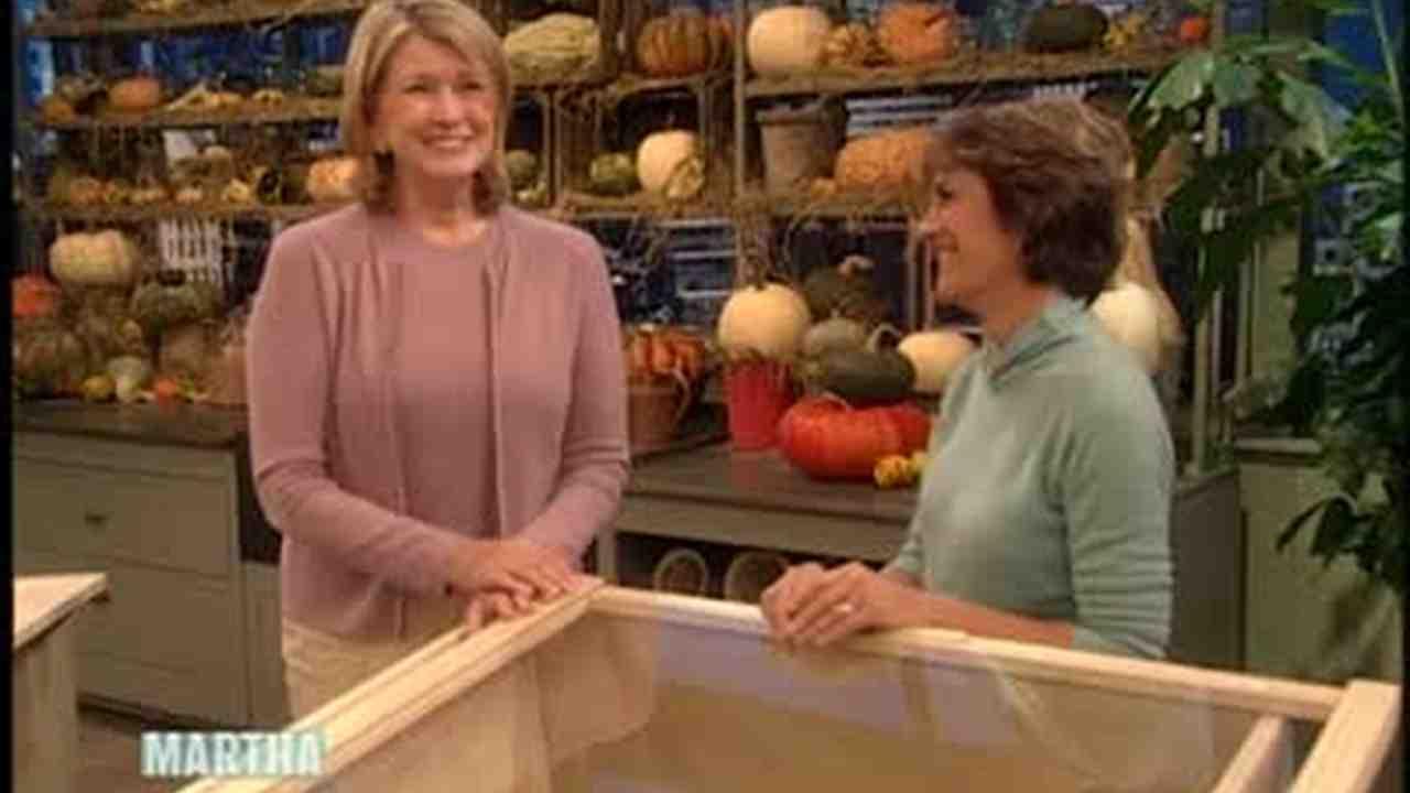 Video: Garden Cold Frame   Martha Stewart