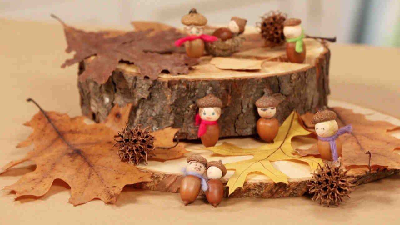 Video Handmade Acorn People Martha Stewart