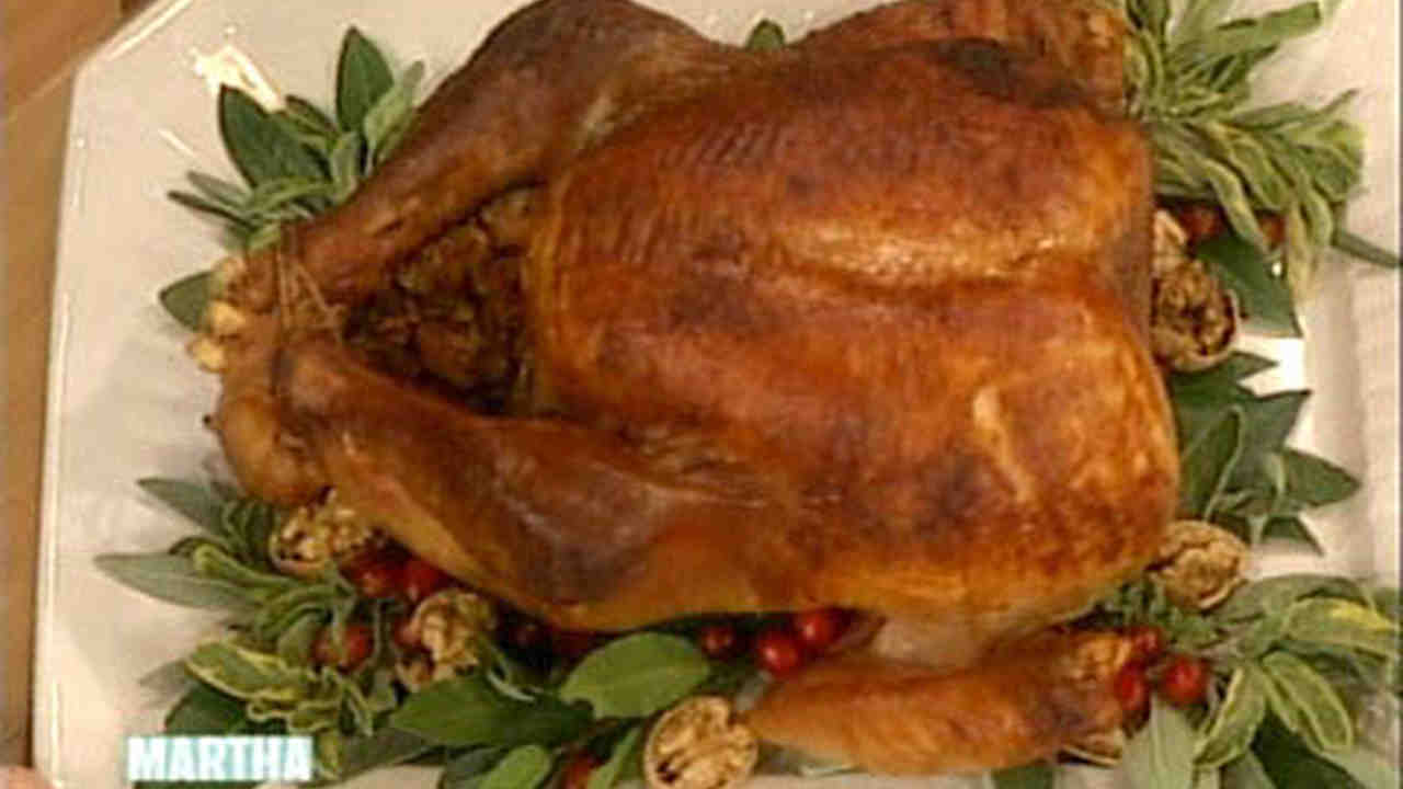 Roasted Dry Brined Turkey