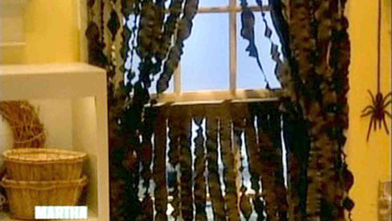Video Crepe Paper Curtains