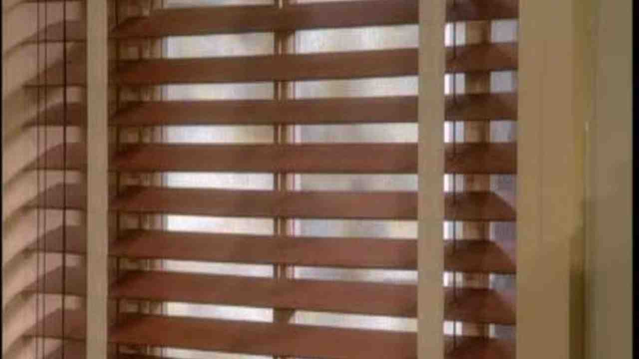 no aluminum wood and watch in youtube scrubbing with wooden cleaning faux blinds minutes