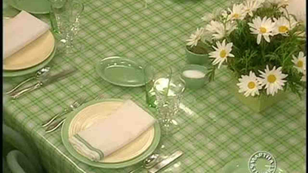 & Video: Summer Table Settings | Martha Stewart