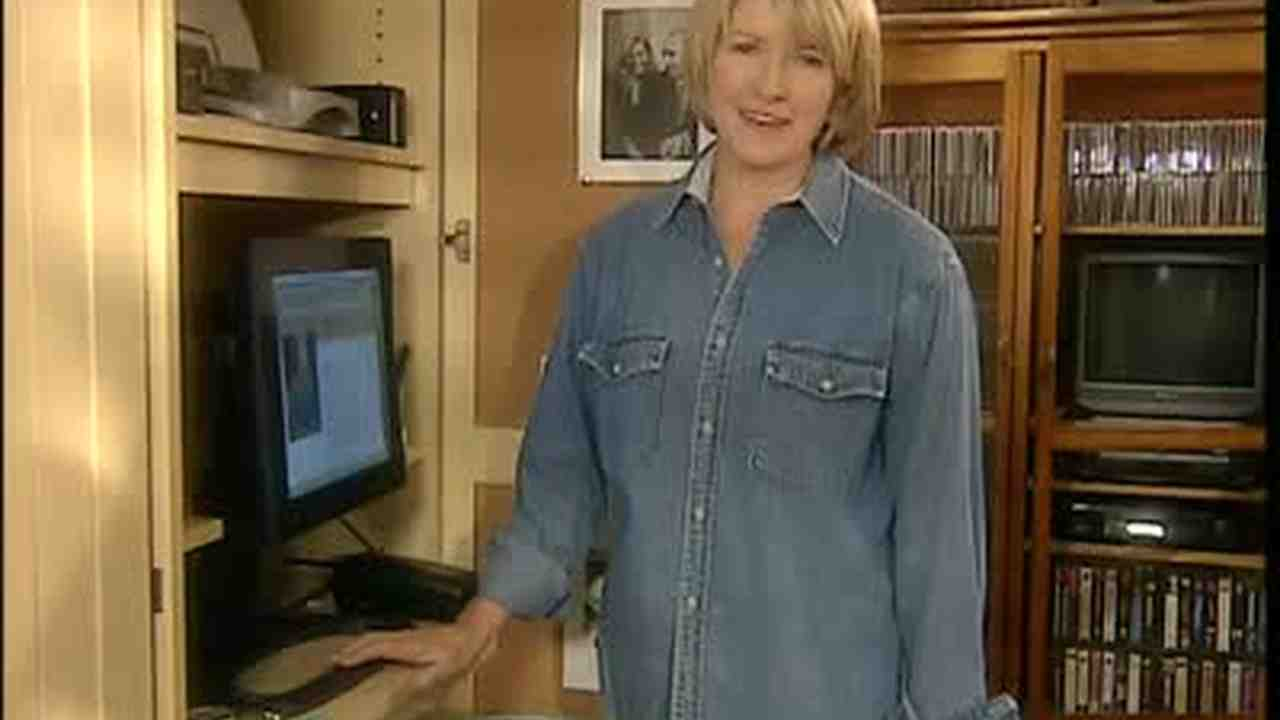 Home office closet Secret Craft Your Happiness Video Home Office In Closet Martha Stewart