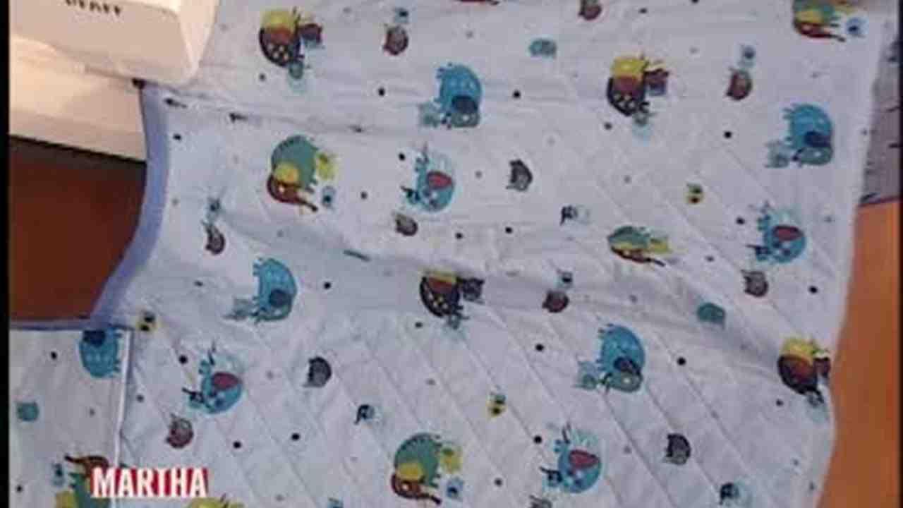 Video: How to Make a Baby Quilt | Martha Stewart : martha stewart baby quilt - Adamdwight.com