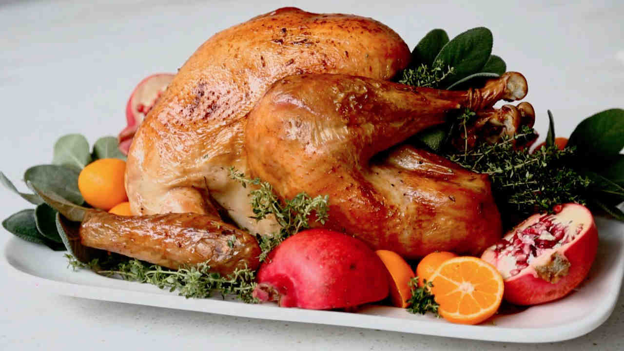 Butter Basted Roast Turkey