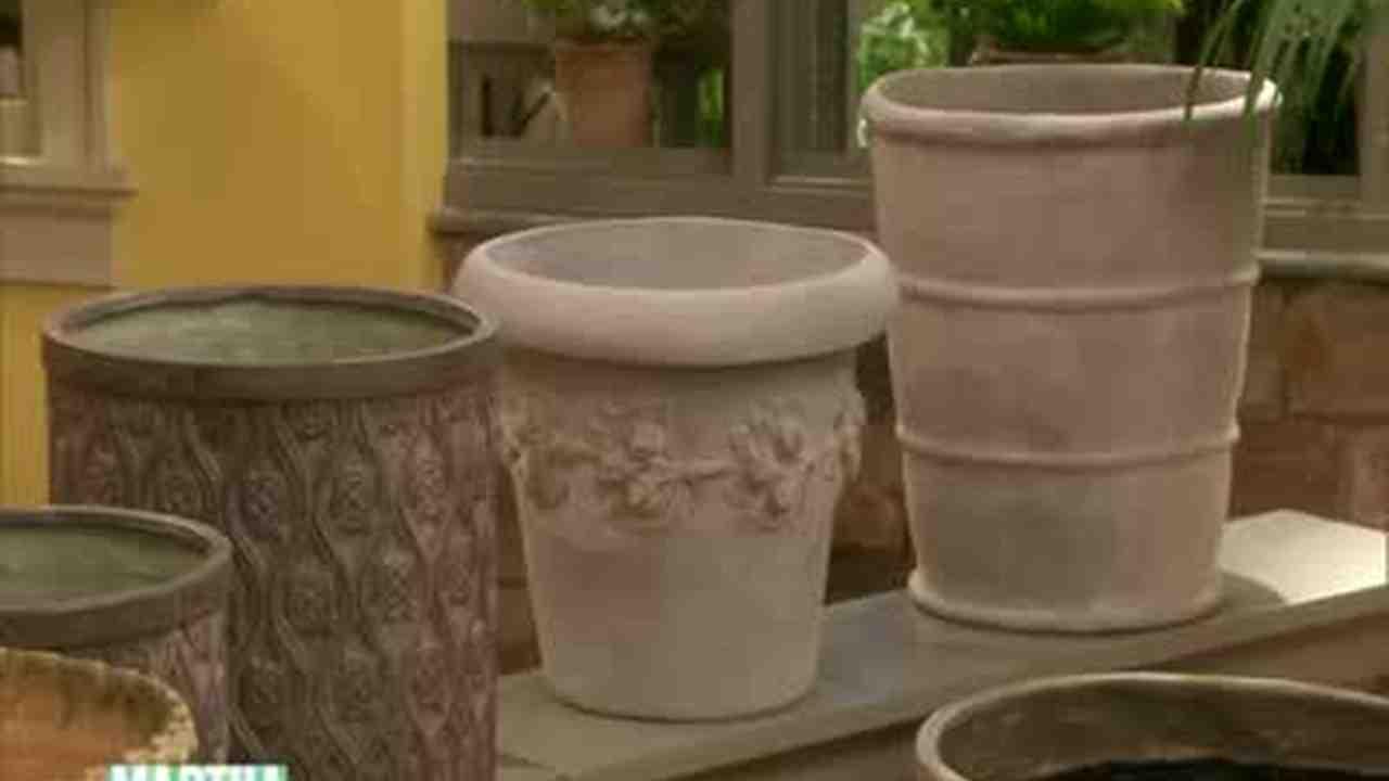 Video: Garden Pot Facts and Tips   Martha Stewart