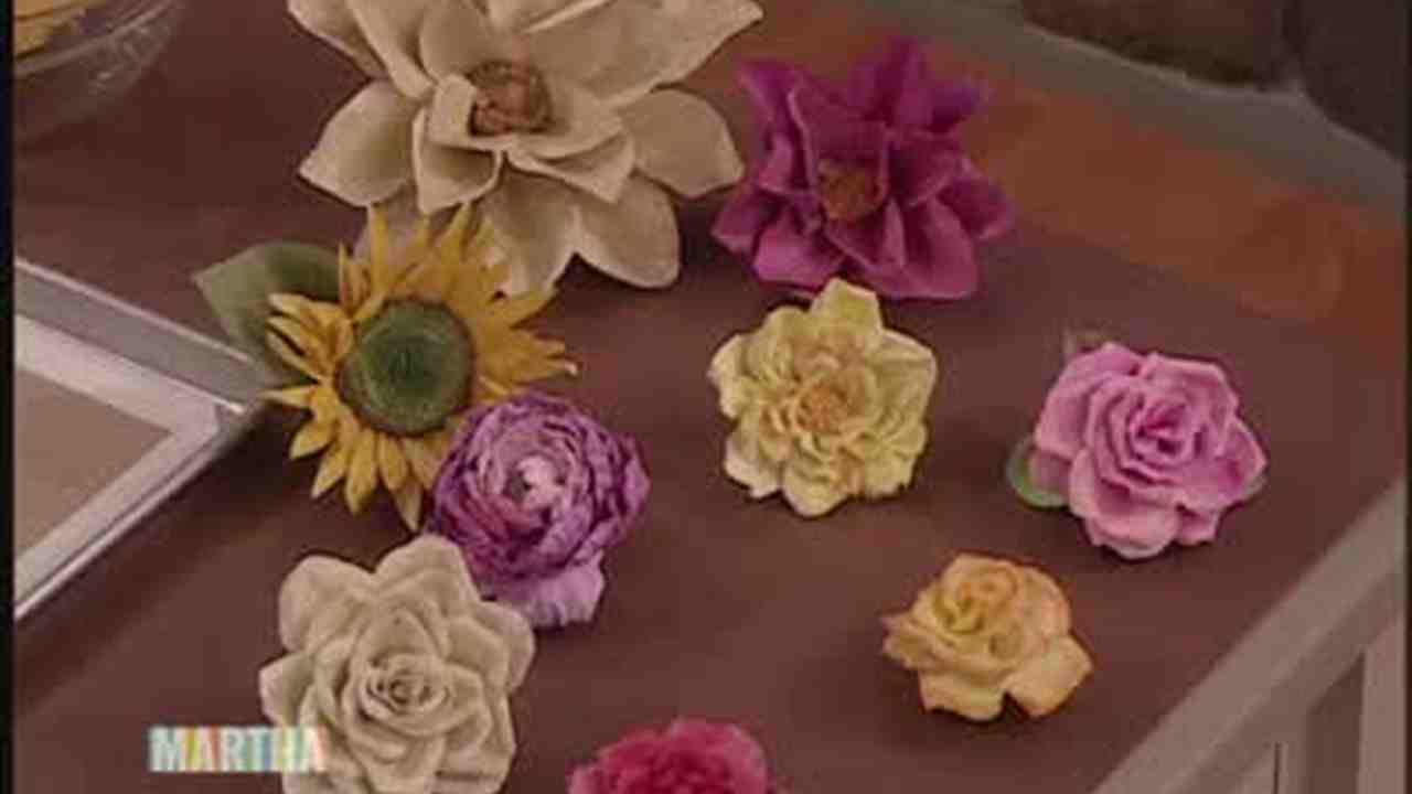 Flower Making With Paper Video Forteforic