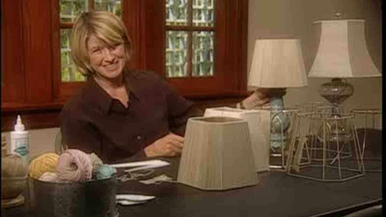 Video how to string lamp shades martha stewart aloadofball Choice Image