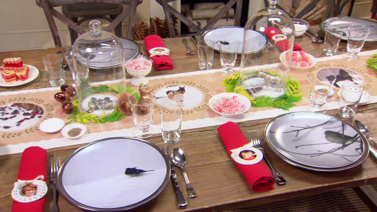 & Video: Setting the Holiday Table | Martha Stewart