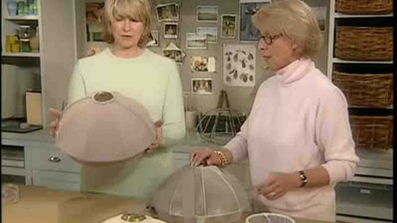Video how to lamp shade covering martha stewart aloadofball Images