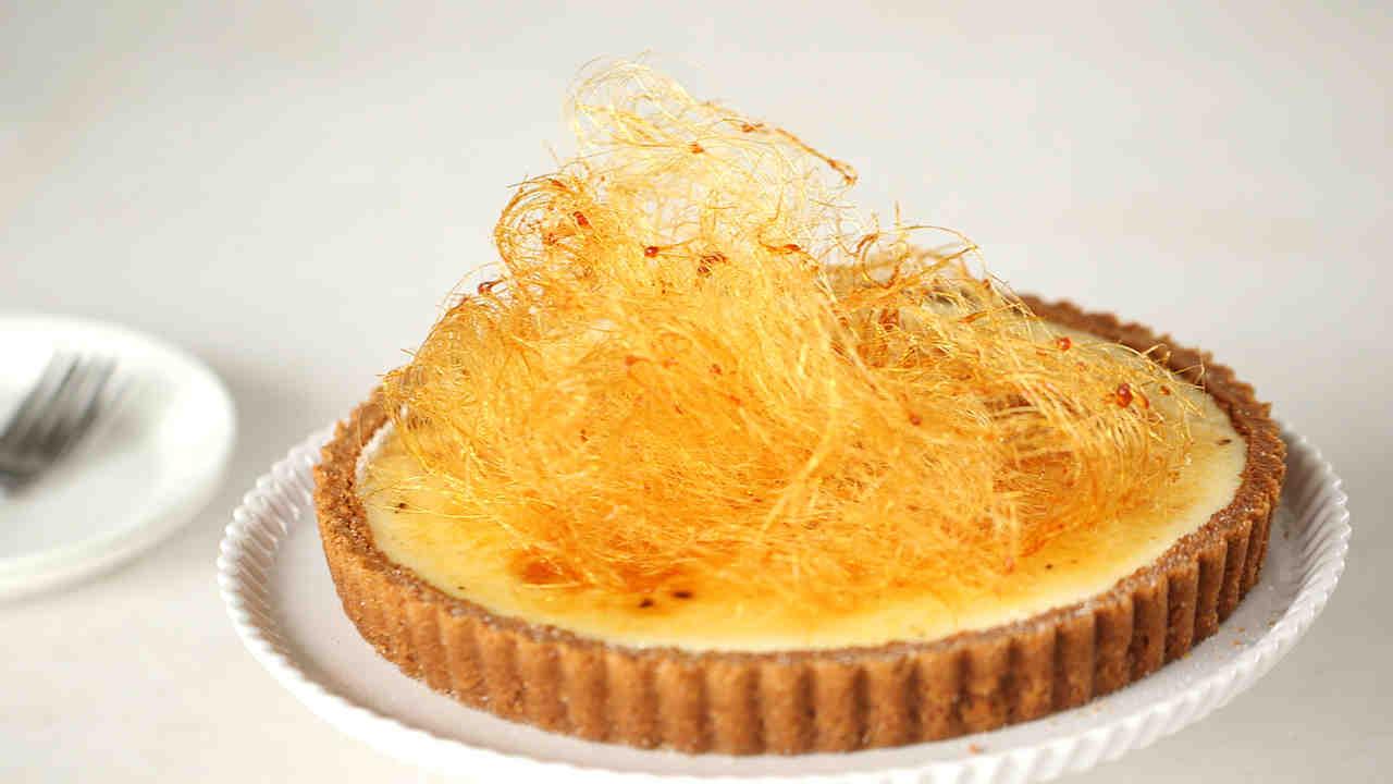 Bruleed Vanilla Bean Cheesecake