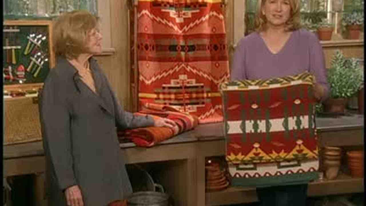Video: Collectable Beacon Blankets | Martha Stewart