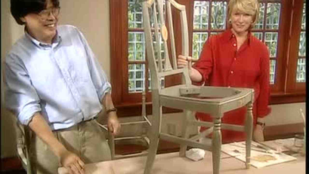 Video: How To Decorate an Old Chair | Martha Stewart