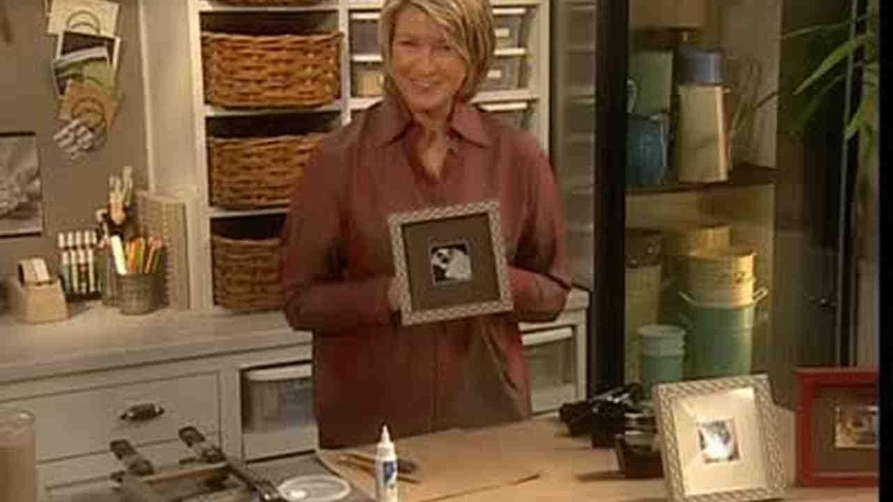 Video: Making A Wood Filigree Frame | Martha Stewart