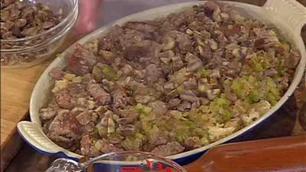 Video Turkey Stuffing With Sausage Martha Stewart