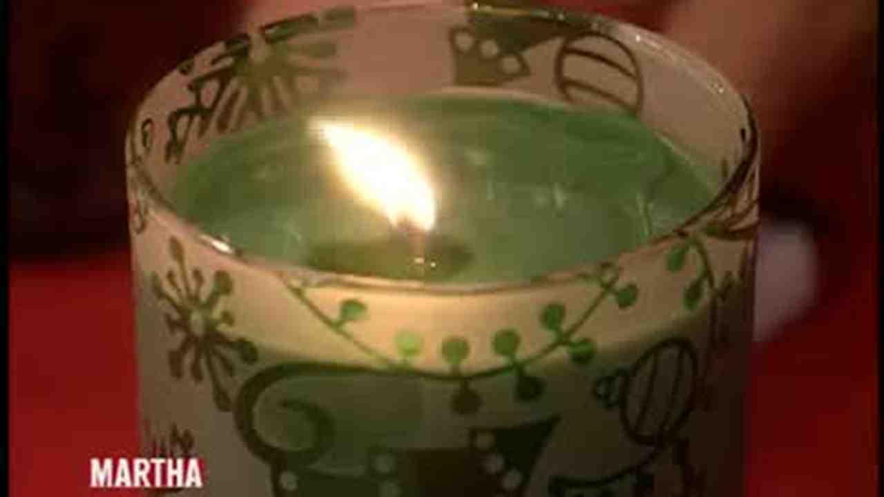 Video: Handmade Scented Make Candles | Martha Stewart