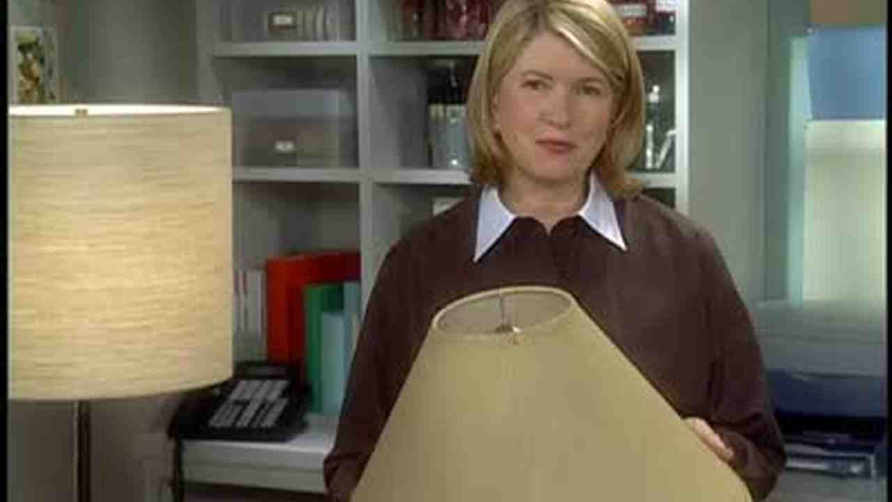 Video How To Make Your Own Lampshade Martha Stewart