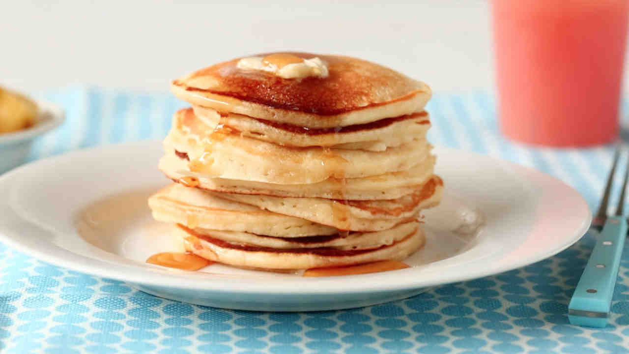 Easy basic pancakes recipe video martha stewart ccuart Gallery