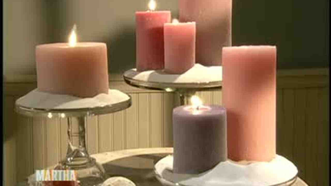 Video: How to Make Molded Sand Candles | Martha Stewart