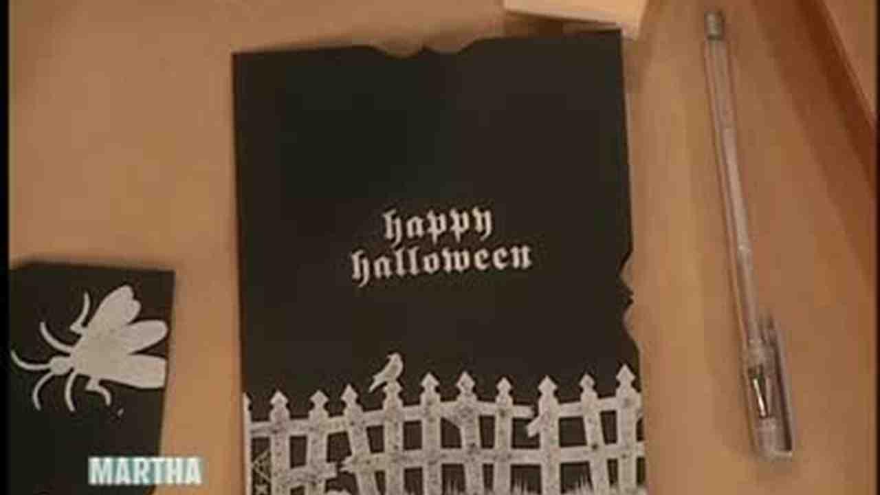Video scary halloween invitation kits martha stewart stopboris Images