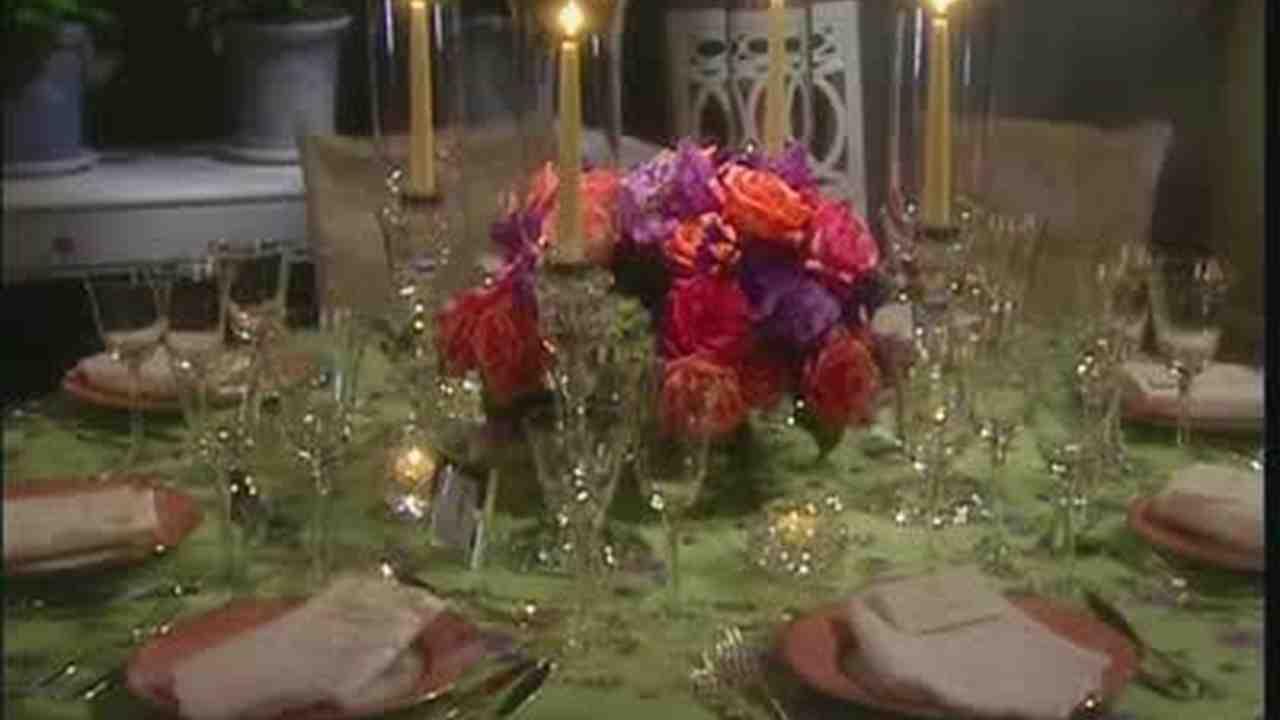& Video: Wedding Reception Table Setting | Martha Stewart