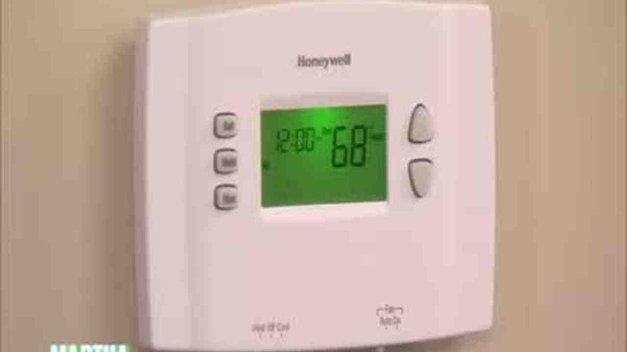 How To Replace A Thermostat >> How To Replace An Old Thermostat