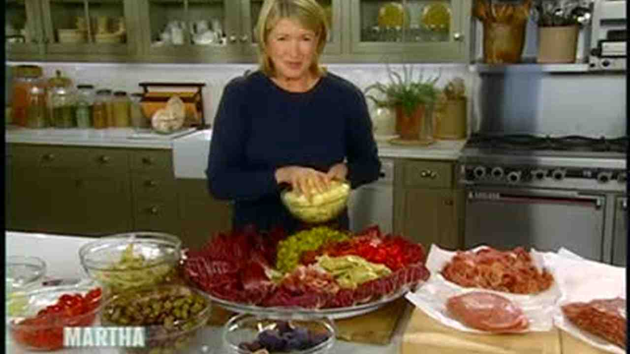 video: quick and easy antipasto platter | martha stewart