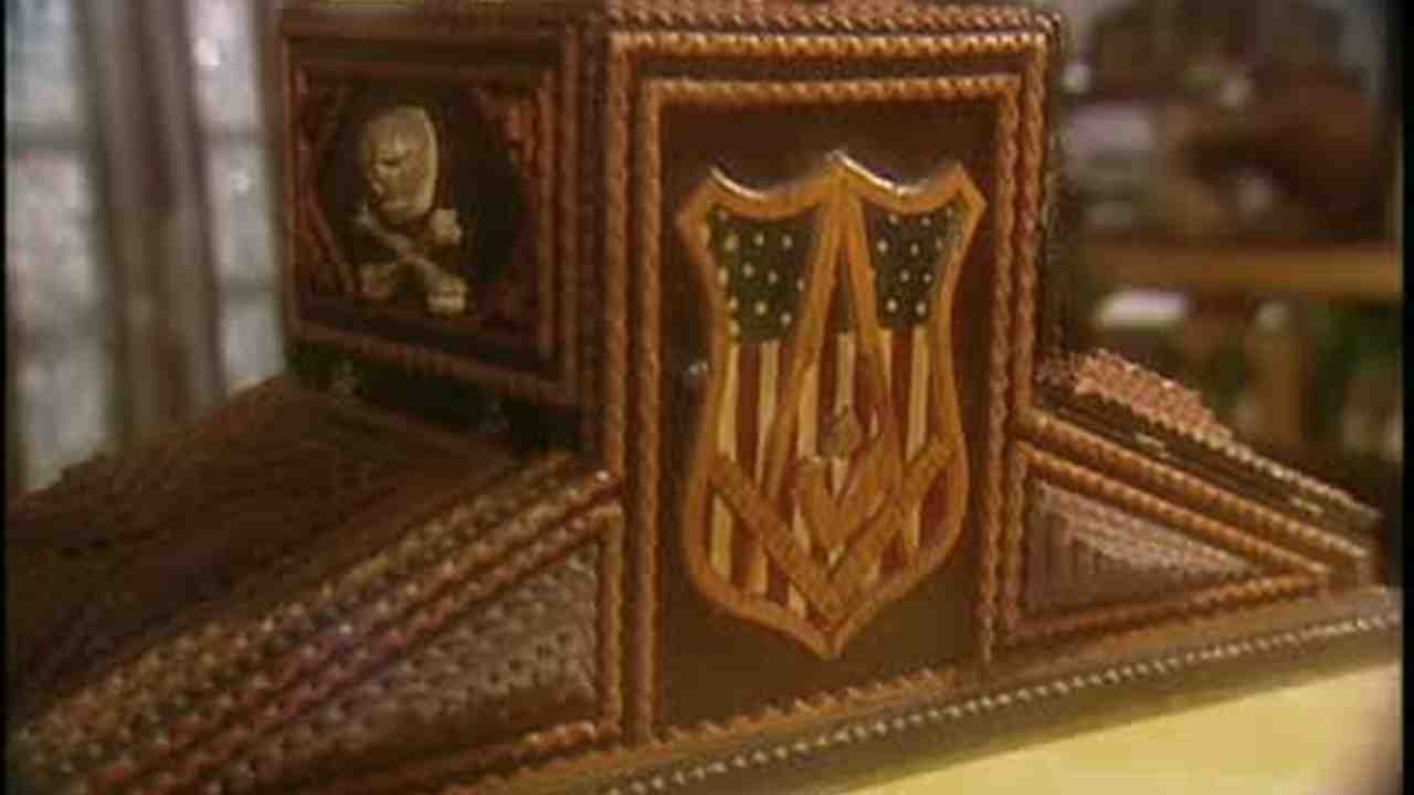 Video: Making Tramp Art From Cigar Boxes | Martha Stewart