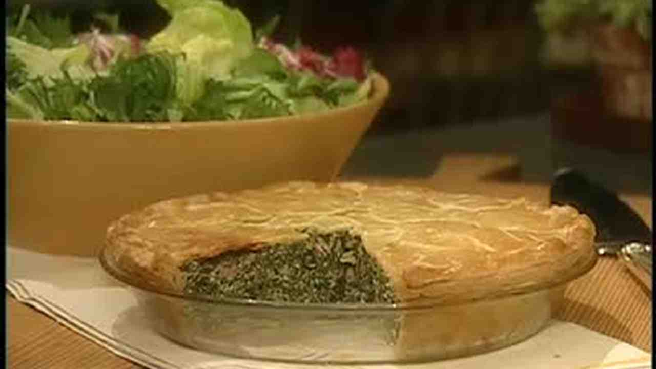 Video how to make an italian spinach pie martha stewart forumfinder Image collections