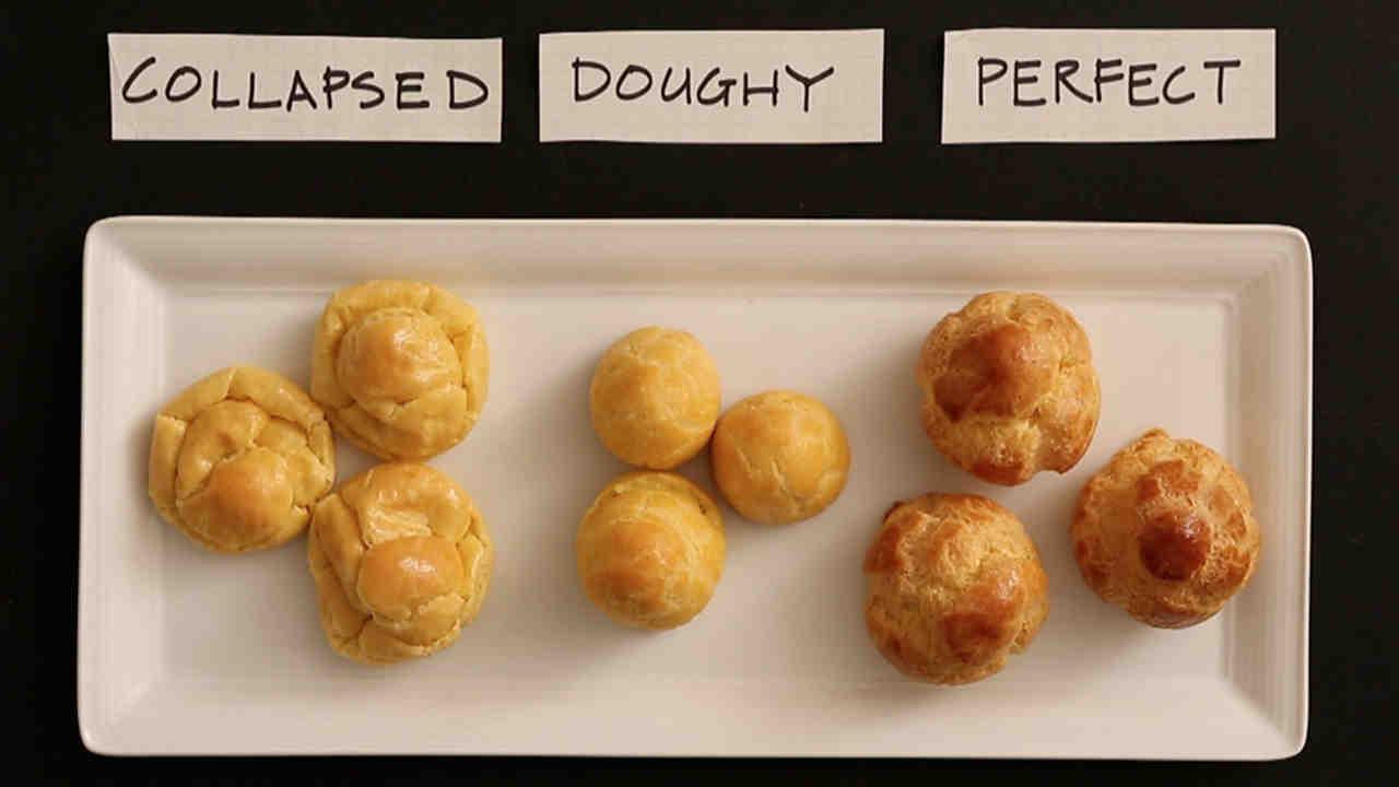 How to make custard cream puffs