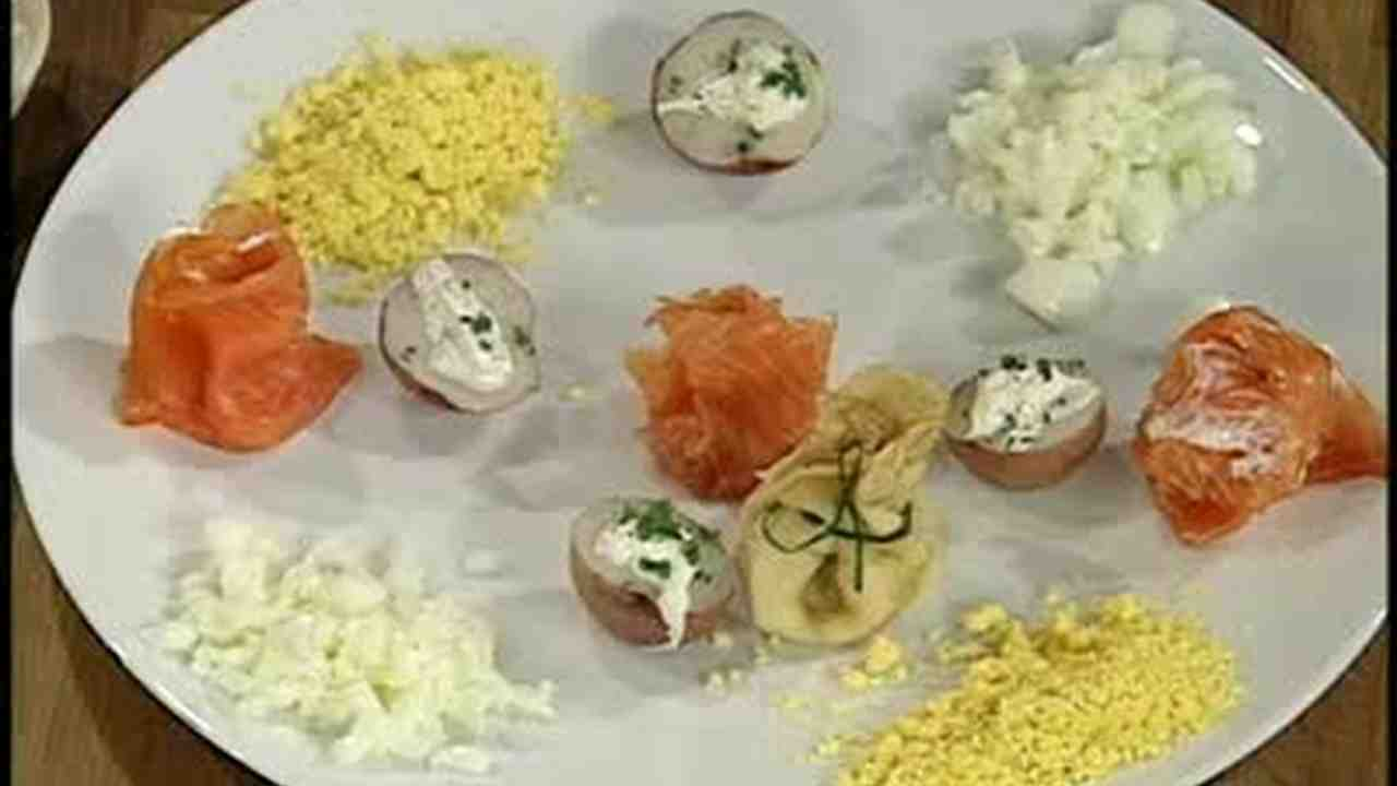 Video Traditional Caviar Garnish Recipes
