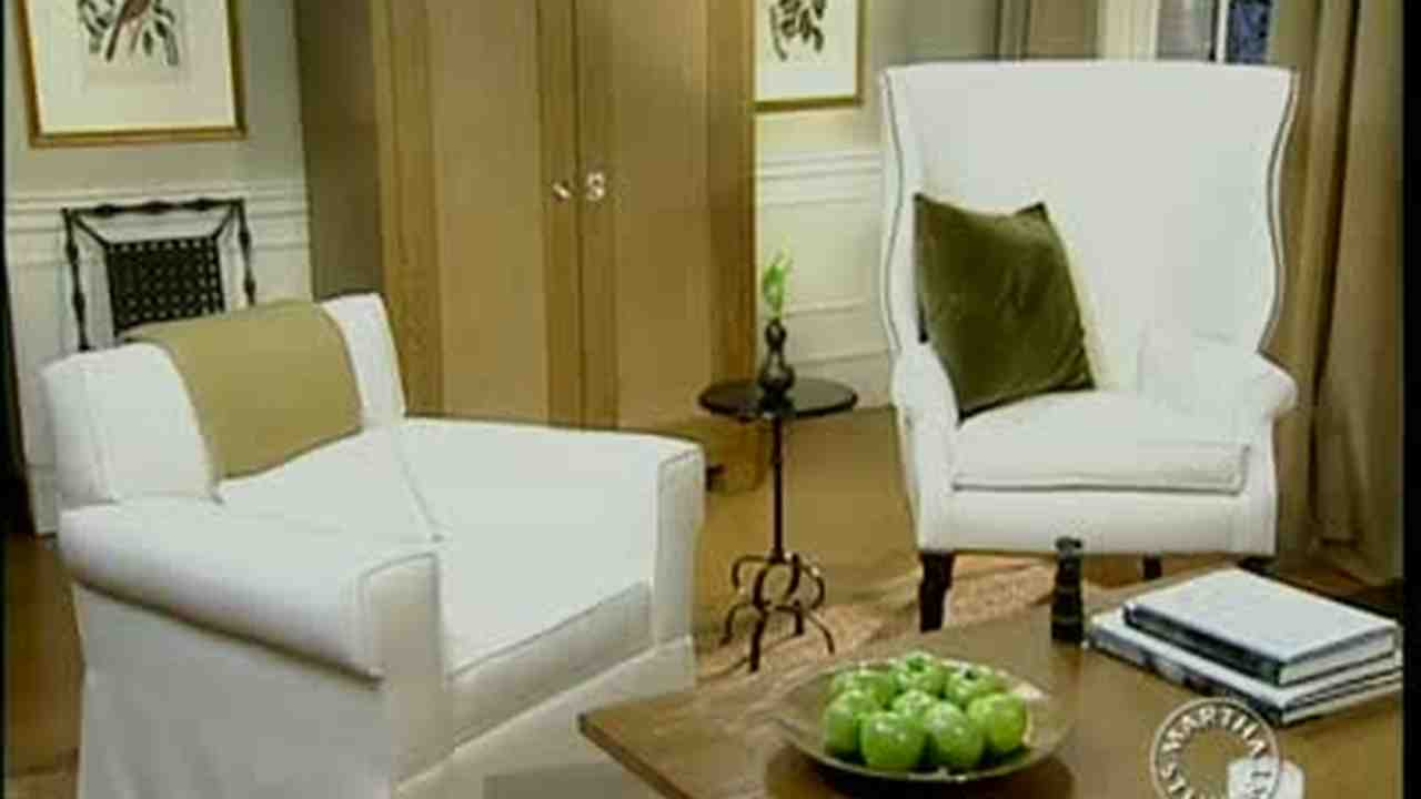 Video: Designing a Comfortable Living Room | Martha Stewart