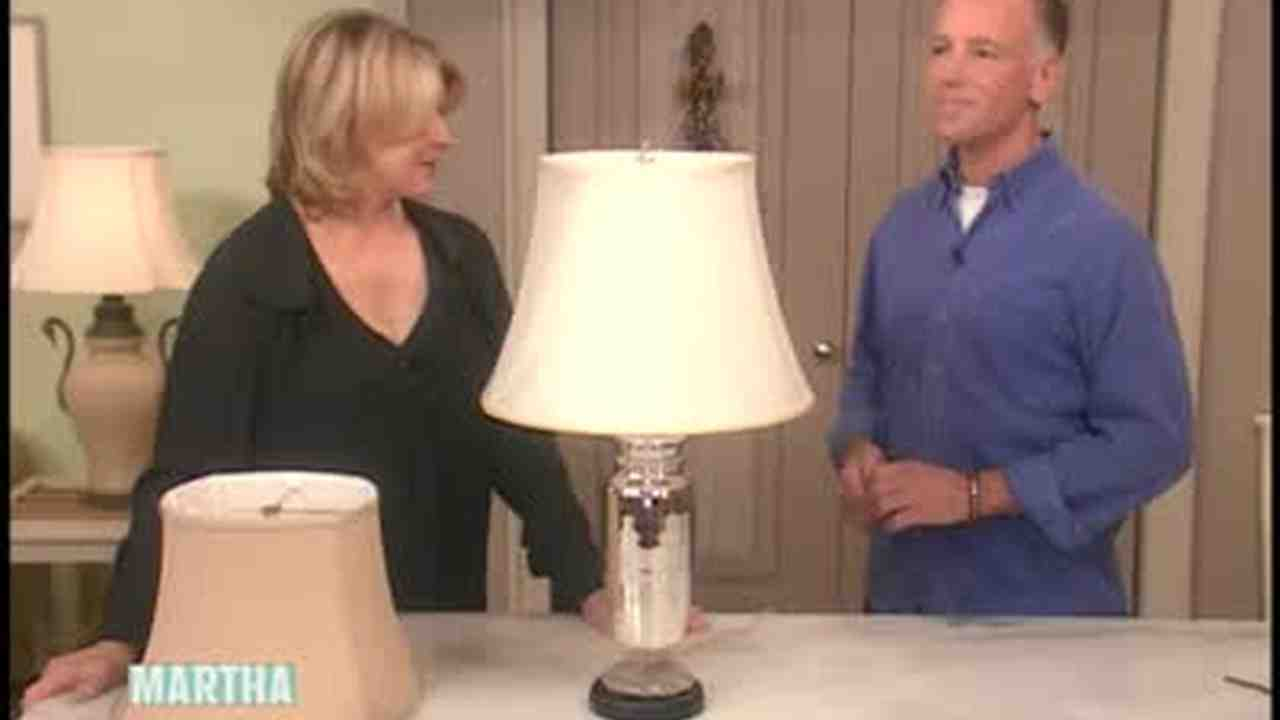 Video how to choose the perfect lampshade martha stewart aloadofball Gallery