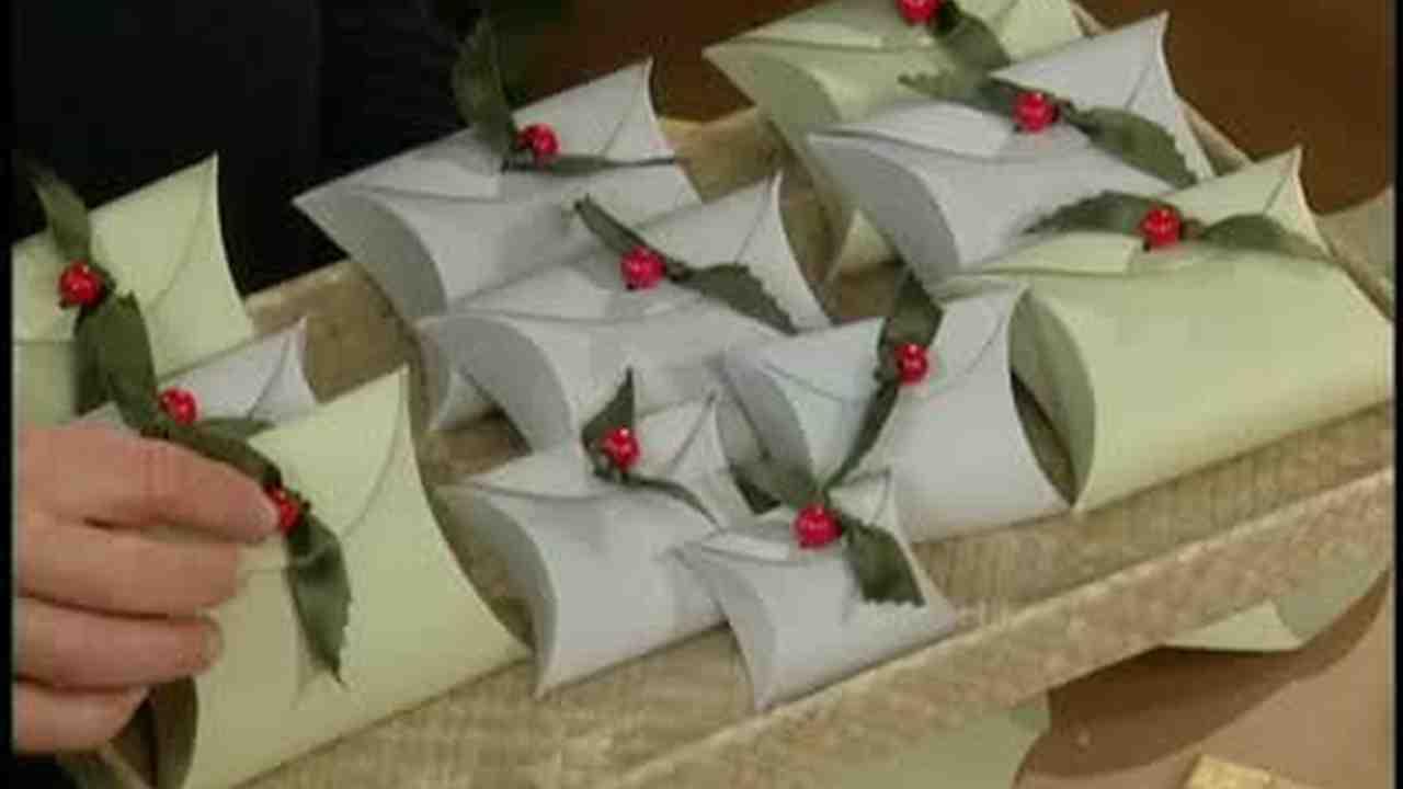 Video: How to Make Homemade Christmas Boxes | Martha Stewart