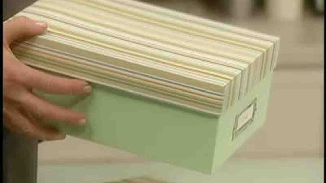 & Video: Storage Box Covered in Contact Paper | Martha Stewart