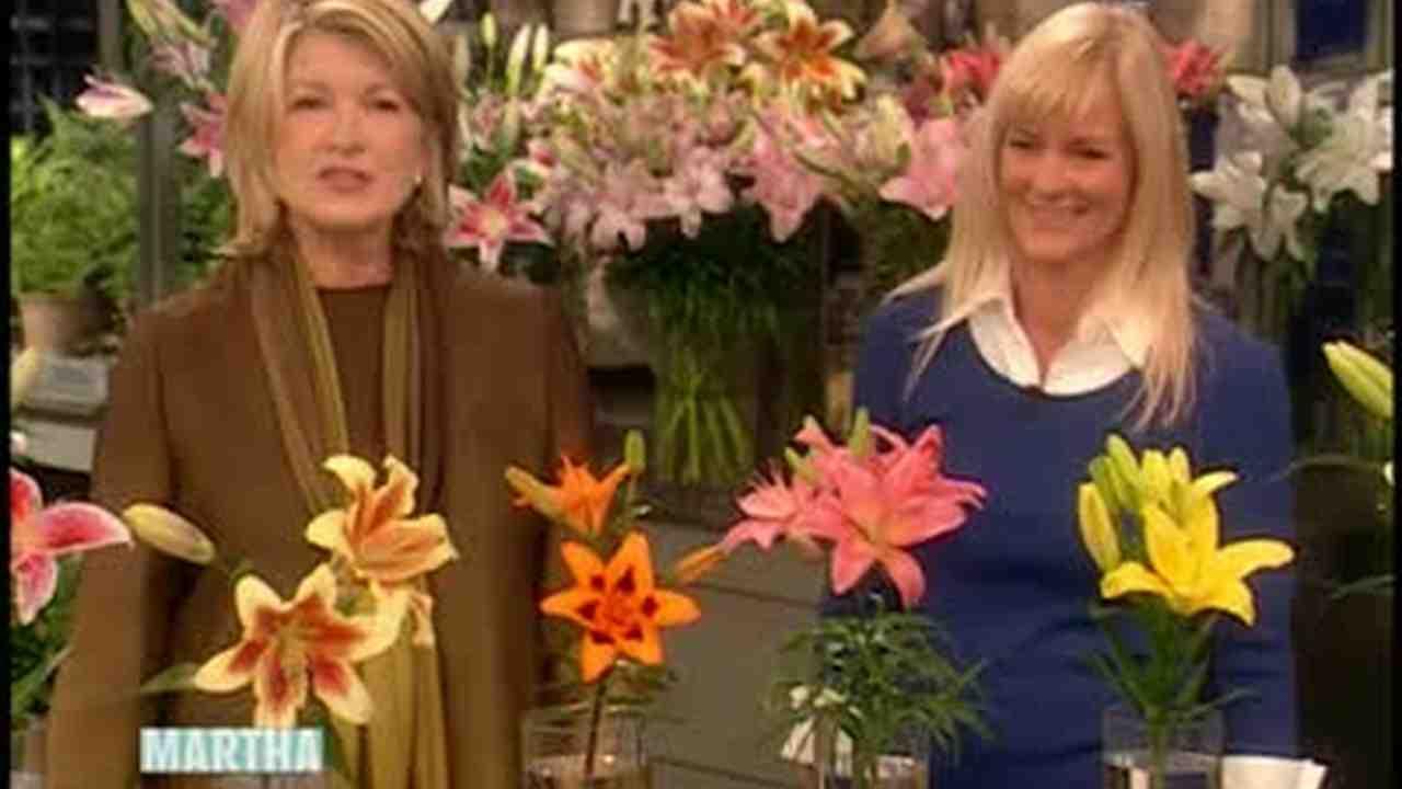 Video All About Lilies With Barbara Pierson Martha Stewart