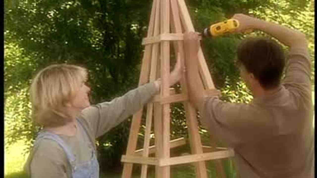 Video How to Build a Pyramid Shaped Trellis
