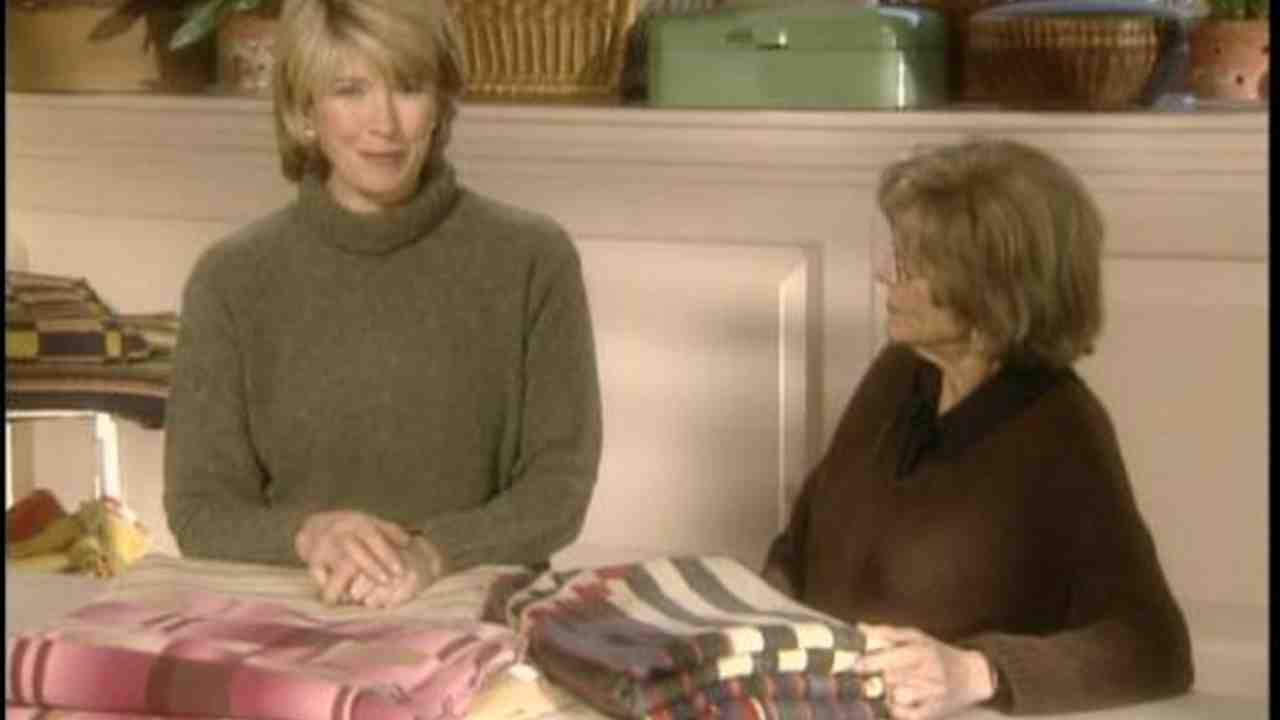 Video: How to Fold and Care For Rare Blankets | Martha Stewart