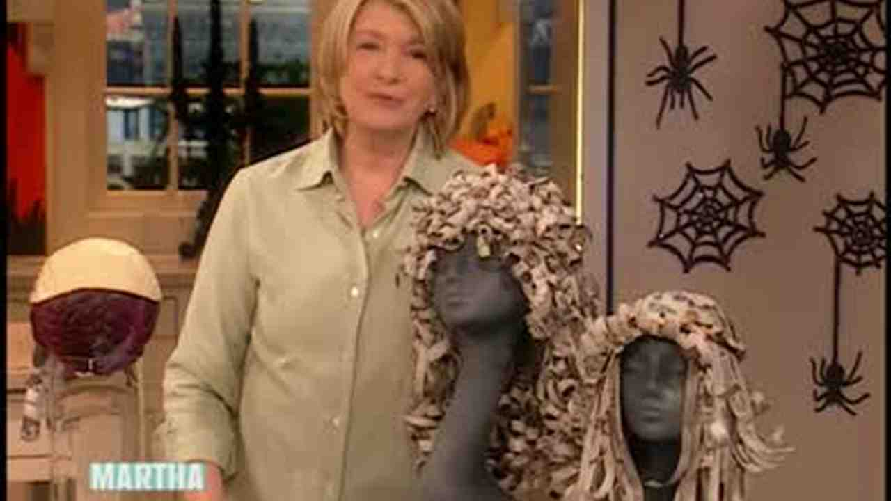 Video How To Make Curly Paper Halloween Wigs Martha Stewart