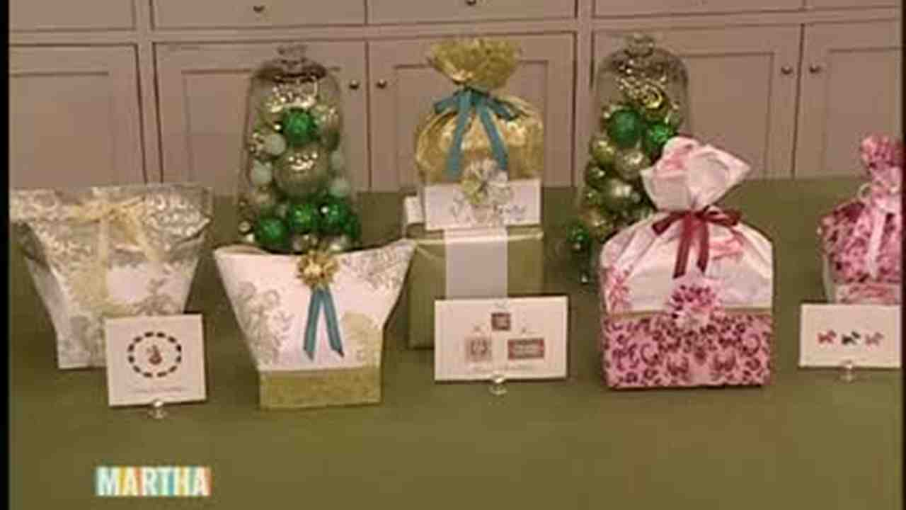 Video how to make decorative paper gift bags martha stewart