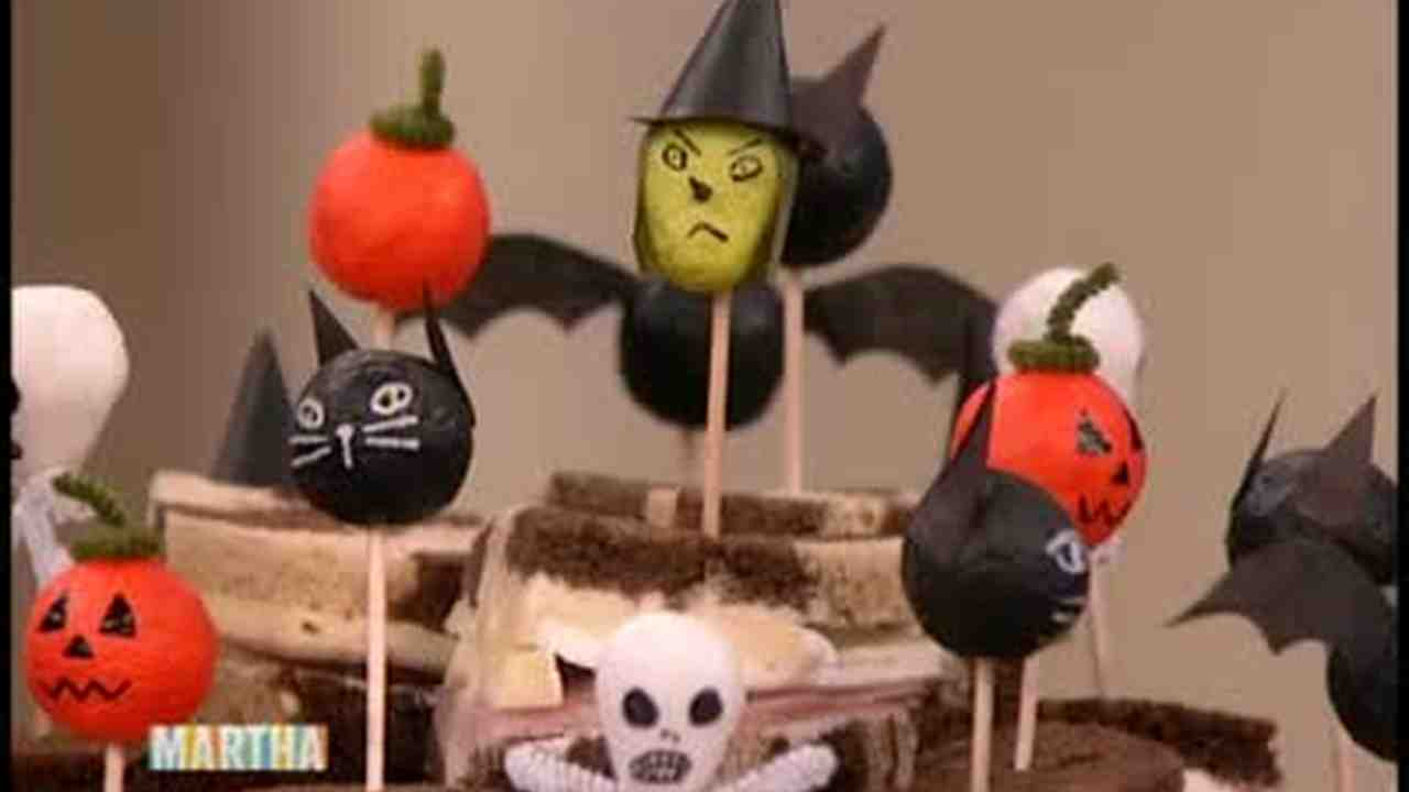 video how to make spooky halloween toothpicks martha stewart