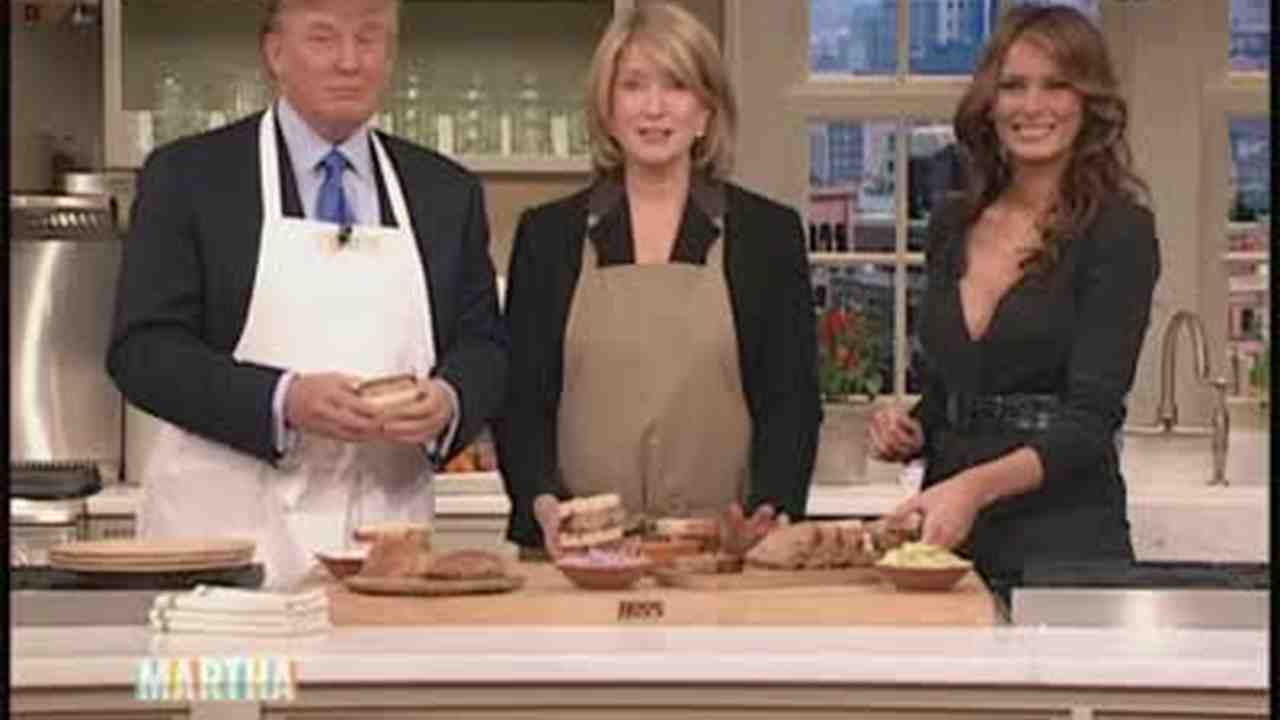 Image result for trump cooking on a grill