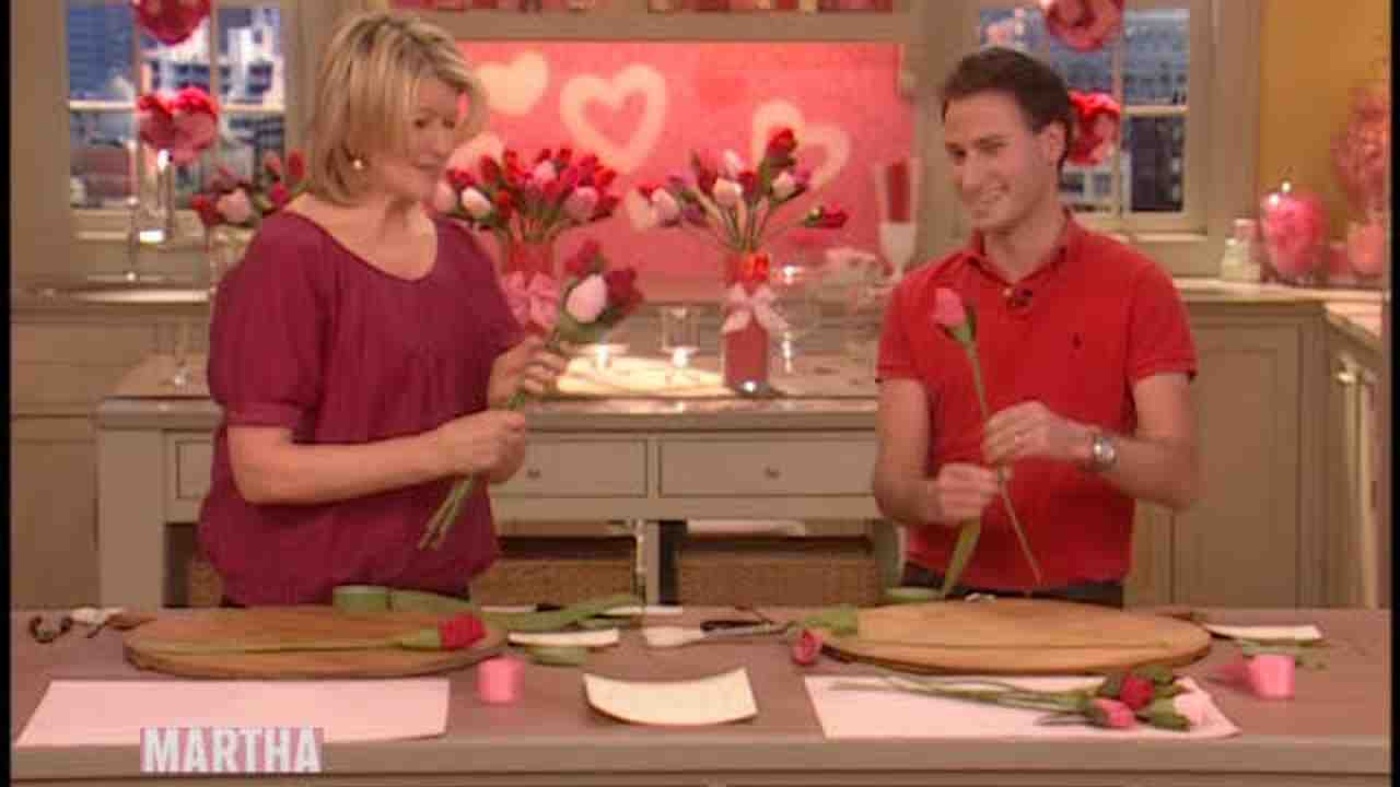 Video How To Make A Bouquet Of Lace Panty Roses Martha Stewart