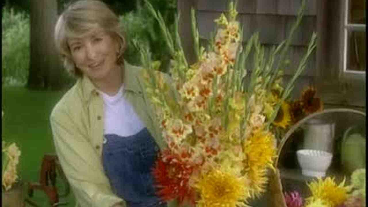Video how to make gladiolus flower arrangements martha stewart izmirmasajfo
