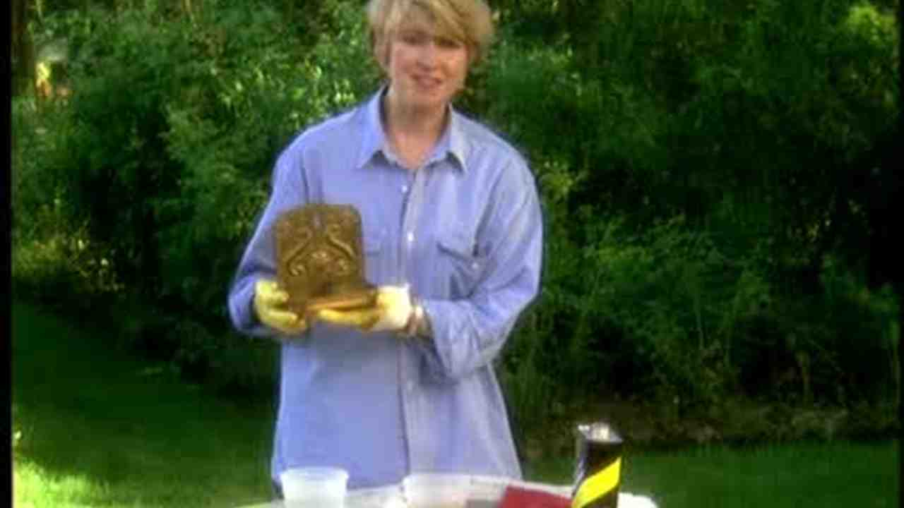 Video: How To Remove Lacquer From Brass Fixtures | Martha Stewart