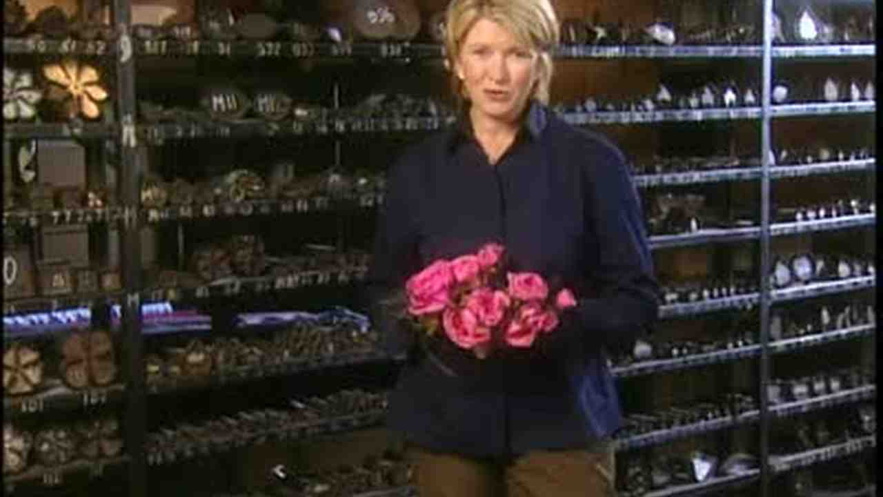 Video Making Silk Flowers At Dulken And Derrick Martha Stewart