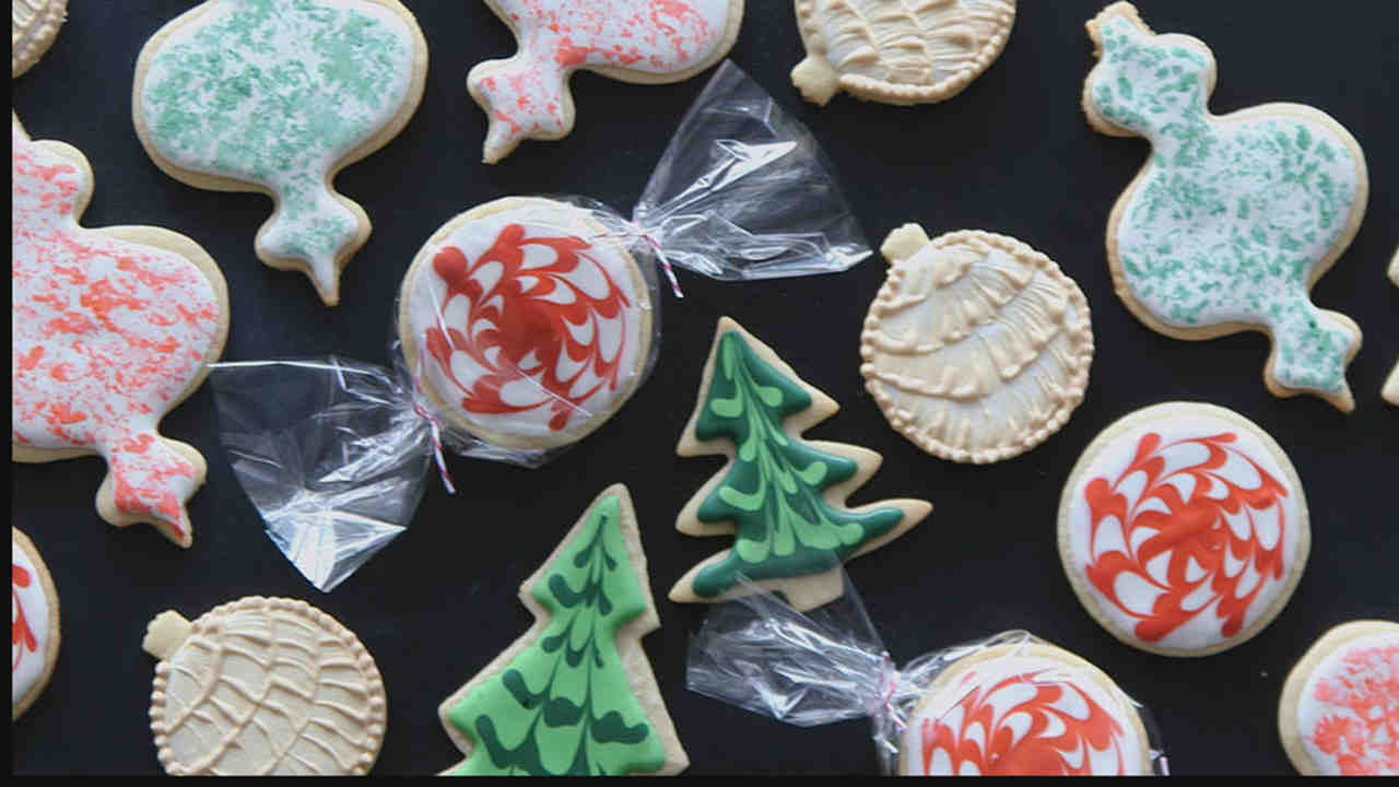 sugar cookies - Decorations For Christmas Sugar Cookies