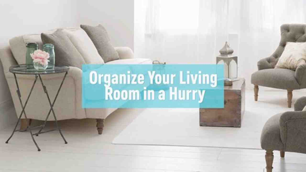 Video: Organize the Living Room in a Snap | Martha Stewart