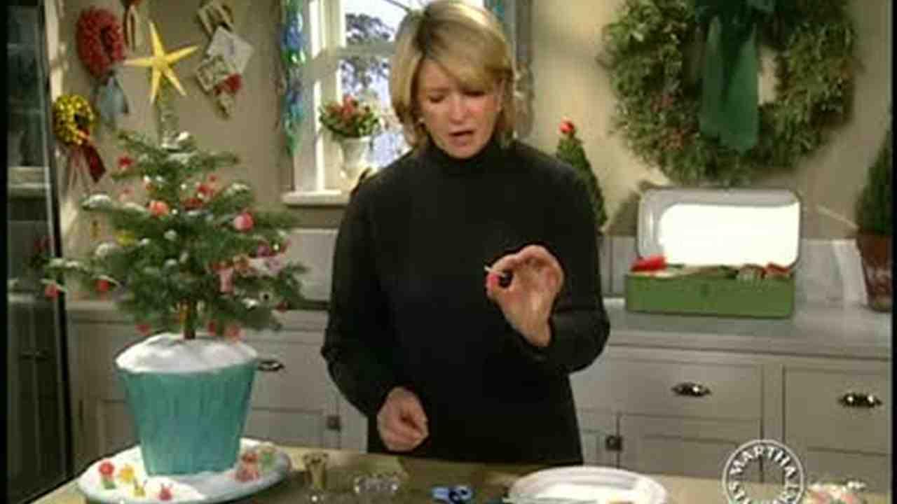 Video: Colorful Candy Gumdrop Christmas Ornaments | Martha Stewart